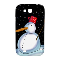 Lonely snowman Samsung Galaxy Grand GT-I9128 Hardshell Case