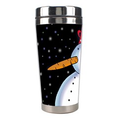 Lonely snowman Stainless Steel Travel Tumblers