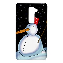 Lonely snowman LG G2