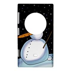 Lonely snowman Nokia Lumia 1020