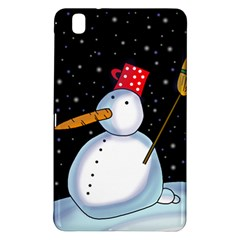 Lonely snowman Samsung Galaxy Tab Pro 8.4 Hardshell Case