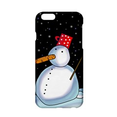 Lonely snowman Apple iPhone 6/6S Hardshell Case