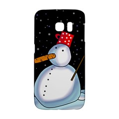 Lonely snowman Galaxy S6 Edge