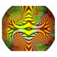 Fractals Ball About Abstract Double Sided Flano Blanket (small)