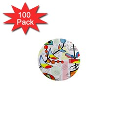 Happy day 1  Mini Magnets (100 pack)
