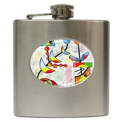 Happy day Hip Flask (6 oz)