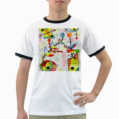Happy day Ringer T-Shirts
