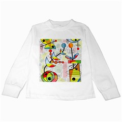 Happy day Kids Long Sleeve T-Shirts