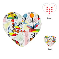 Happy day Playing Cards (Heart)
