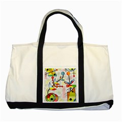Happy day Two Tone Tote Bag