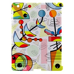 Happy day Apple iPad 3/4 Hardshell Case (Compatible with Smart Cover)