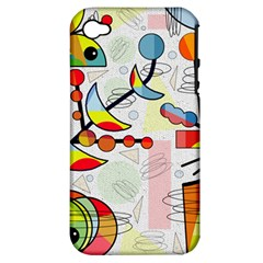 Happy day Apple iPhone 4/4S Hardshell Case (PC+Silicone)
