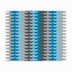 Pattern Boats Background Ship Small Glasses Cloth (2 Side)
