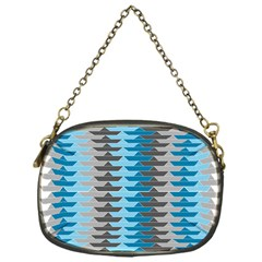 Pattern Boats Background Ship Chain Purses (one Side)