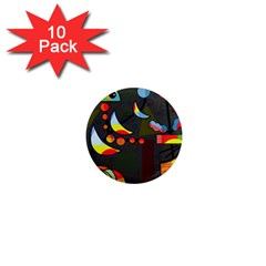 Happy day 2 1  Mini Magnet (10 pack)