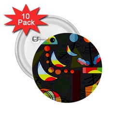 Happy day 2 2.25  Buttons (10 pack)