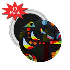 Happy day 2 2.25  Magnets (10 pack)