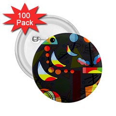 Happy day 2 2.25  Buttons (100 pack)