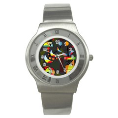 Happy day 2 Stainless Steel Watch