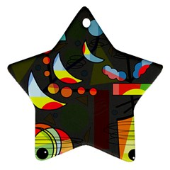 Happy day 2 Star Ornament (Two Sides)