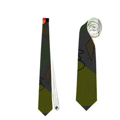 Happy day 2 Neckties (Two Side)