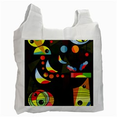Happy day 2 Recycle Bag (One Side)