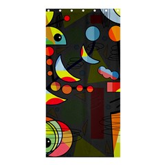 Happy day 2 Shower Curtain 36  x 72  (Stall)
