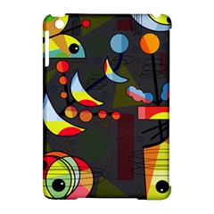 Happy day 2 Apple iPad Mini Hardshell Case (Compatible with Smart Cover)