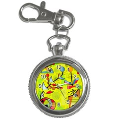 Happy day - yellow Key Chain Watches