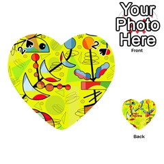 Happy day - yellow Playing Cards 54 (Heart)