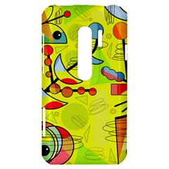Happy day - yellow HTC Evo 3D Hardshell Case