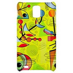 Happy day - yellow Samsung Infuse 4G Hardshell Case