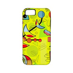 Happy day - yellow Apple iPhone 5 Classic Hardshell Case (PC+Silicone)