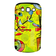 Happy day - yellow Samsung Galaxy S III Classic Hardshell Case (PC+Silicone)