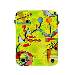 Happy day - yellow Apple iPad 2/3/4 Protective Soft Cases