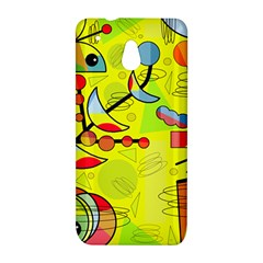 Happy day - yellow HTC One Mini (601e) M4 Hardshell Case