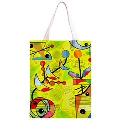 Happy day - yellow Classic Light Tote Bag