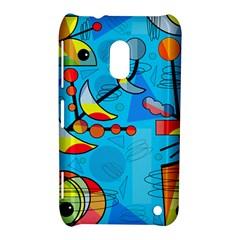 Happy day - blue Nokia Lumia 620