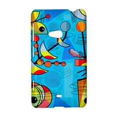Happy day - blue Nokia Lumia 625