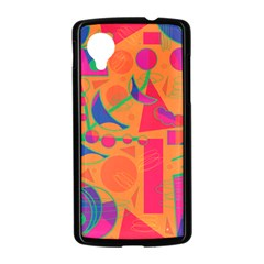 Happy day - orange Nexus 5 Case (Black)