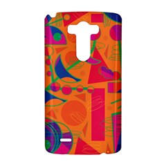 Happy day - orange LG G3 Hardshell Case
