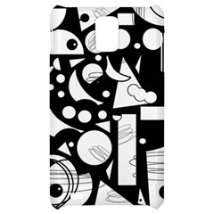 Happy day - black and white Samsung Infuse 4G Hardshell Case
