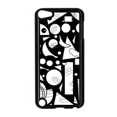 Happy day - black and white Apple iPod Touch 5 Case (Black)