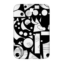 Happy day - black and white Samsung Galaxy Note 8.0 N5100 Hardshell Case