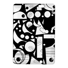 Happy day - black and white Kindle Fire HDX 8.9  Hardshell Case