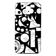 Happy day - black and white Samsung Galaxy S5 Back Case (White)