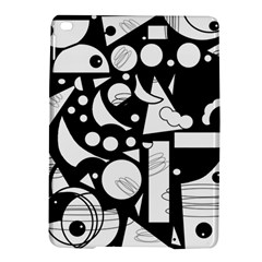 Happy day - black and white iPad Air 2 Hardshell Cases