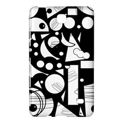 Happy day - black and white Samsung Galaxy Tab 4 (7 ) Hardshell Case