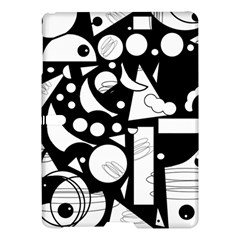 Happy day - black and white Samsung Galaxy Tab S (10.5 ) Hardshell Case