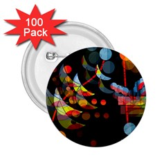 Magical night  2.25  Buttons (100 pack)